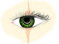 Green Eye Sketch