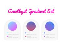 Amethyst Gradient Set
