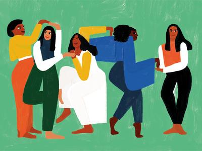 Feminist Puzzles diversity community women feminism illustration