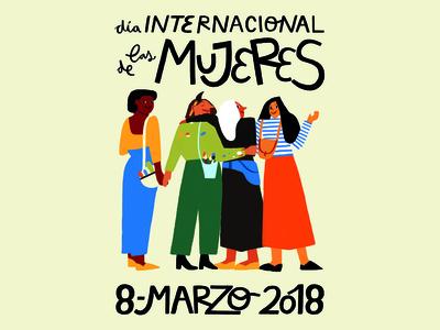 International Women's Day - Campaign barcelona día de las mujeres feminist feminism womens day