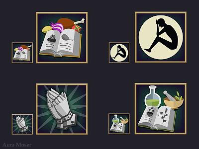 Character Trait Icons vector vector illustration vectorart illustration icon