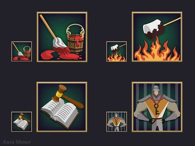 Character Trait Icons vector illustration vectorart vector illustration icon