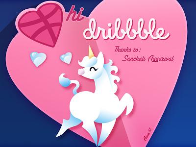 Hello Dribbble debut