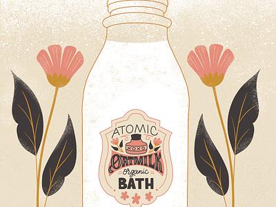 Atomic Oatmilk Bath illustration