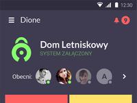 Dione main screen time2art