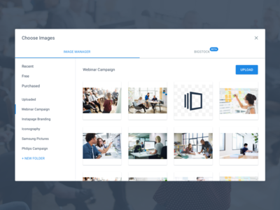 Image Manager user interface material dailyui flat app web design ux ui