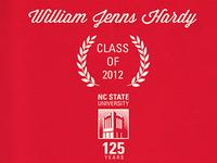 Grad Announcements Side 1