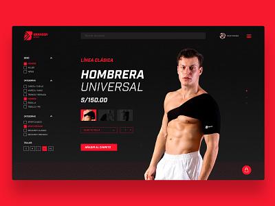 Ecommerce Branson Sport web  design web ui designer mumbai ecommerce sport branding ui challenge ui  ux design