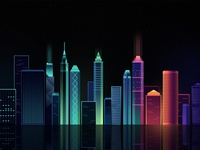 city lights  don't sleep