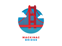 Mackinac Bridge Icon