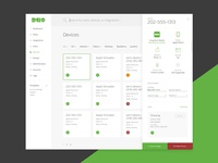 Devices Dashboard