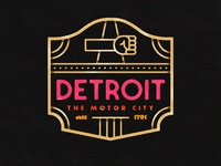 Detroit Badge