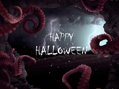 Happy Halloween ! graphicdesign art manipulation halloween design halloween photoshop art photoshop