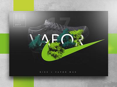 Nike   The Air To Move Forward print design the creatives concept development graphic design vapor max adobe advertisement nike