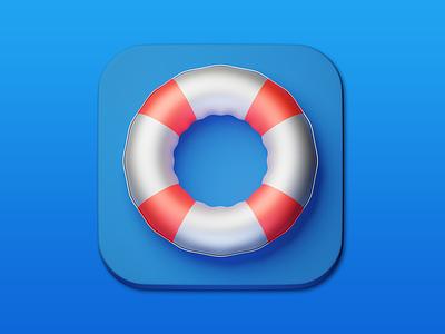 9. Safe-circle minimal 3d art 3d illustration design icon photoshop blender3d adobe photoshop b3d