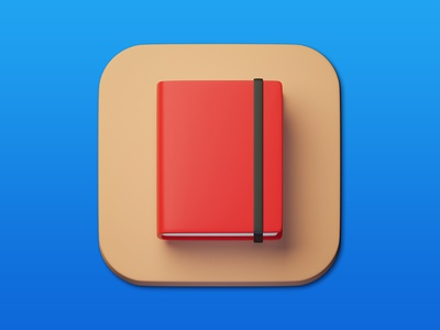 12. Sketchbook minimal illustration 3d art 3d design icon photoshop blender3d adobe photoshop b3d