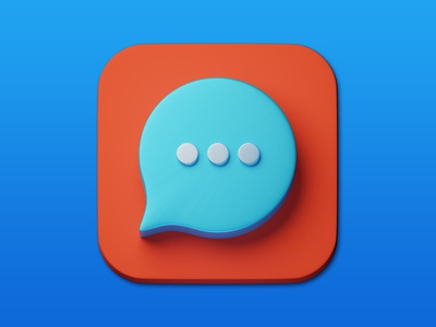 15. Message minimal illustration 3d art 3d design icon photoshop blender3d adobe photoshop b3d
