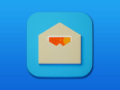 16. Letter minimal 3d art 3d illustration design icon photoshop blender3d adobe photoshop b3d