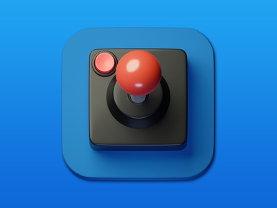 19. Joystick minimal illustration 3d art 3d design icon photoshop blender3d adobe photoshop b3d