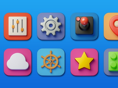Icons illustration lowpoly minimal 3d art 3d design icon photoshop blender3d adobe photoshop b3d