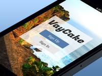 Travel App Launch Screen