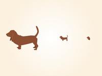Basset Hound Icons
