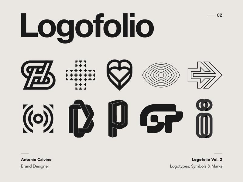 Logofolio Vol. 2 on Behance