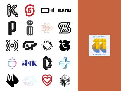 My Logos for LogoLounge Book 12 lettermarklogo lettermark logo mark symbol trademark symbol logo book logo collection logofolio logotype logomarks logomark mark branding logos logo lounge logolounge brand graphicdesign logodesign logo
