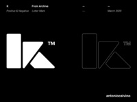 K Letter Mark basic shapes k letter logo k logo trade mark trademark mark minimalist logo minimalistic minimalist minimal letter mark monogram letter mark logos letter mark logo letter mark letter k lettermark k logodesign logo design logo