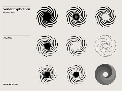 Vortex Exploration golden ratio logo golden ratio goldenratio logo mark logo design symbol exploration logo exploration logo vortex vortex exploration trademark marks symbol logos design graphic branding graphicdesign logodesign logo