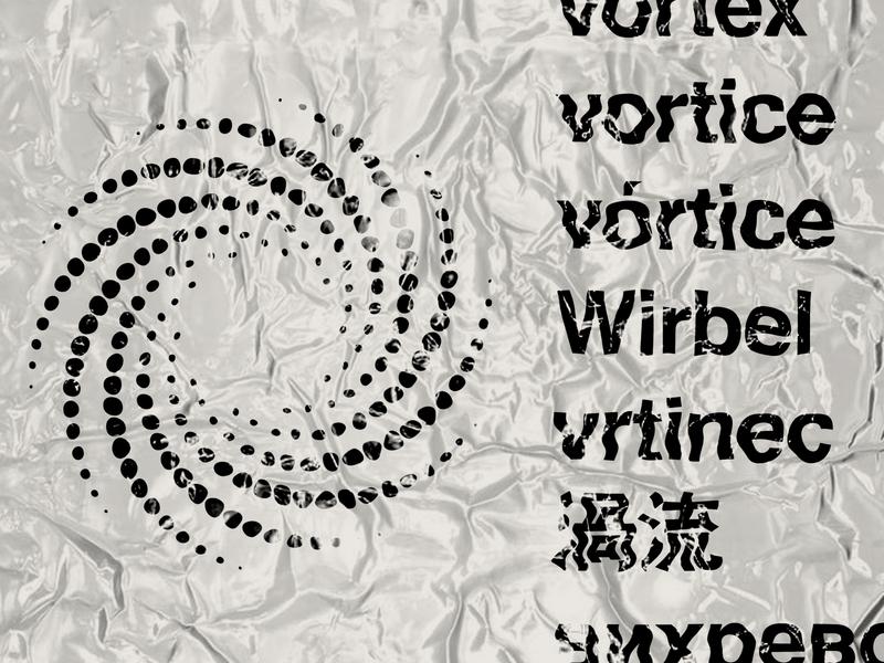 vortex material swiss type typography logo symbol symbol vortex logo swiss poster swiss design swiss style helvetica neue helvetica logo design inspiration marks trademark vortex design branding graphicdesign logodesign logo