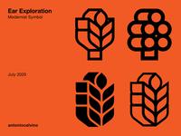 Ear Exploration logo designer swiss design spiga logo spiga logo mark symbol logo symbol logo mark symbol design logodesign branding modernism trademark logo exploration symbol mark mark logo design ear logo ear logo