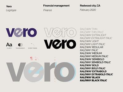 Vero Logotype logo logotipo brand identity management finance logo finance typography logo typography type logo type word mark wordmark logo wordmarks wordmark branding logotype designer logotype design logotypedesign logotypes logotype