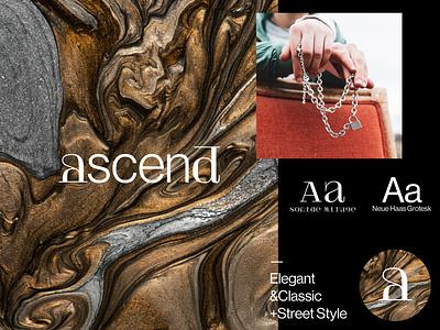 Ascend Logotype 2.0 logotipo wordmark jewelry logo jewels jewellery jewelery jewelry brand design brand identity branding design branding typography logotype designer logotype design logotypes logotypedesign logotype logodesign logo design logo