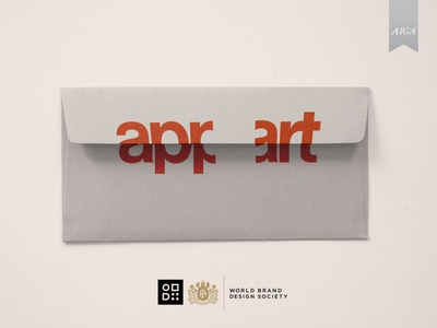 Appart Identity agency corporate design corporate identity identity branding behance project envelope stationery design stationery corporate branding and identity branding agency brand identity brand design branding design branding behance aiga world brand design society logotype logo
