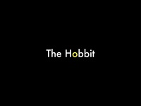 """The Hobbit"" Minimal Logo Design."