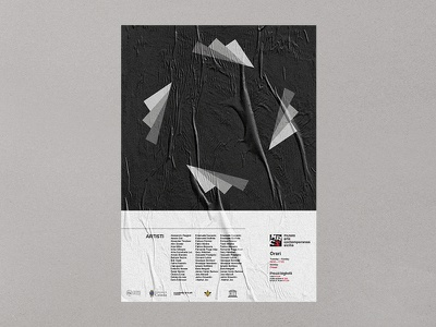 Poster MACS - Museo Arte Contemporaneo Sicilia 3/3 museum logotype artcontemporary dribbble brandidentity branding brand contemporary art design graphic graphicdesign
