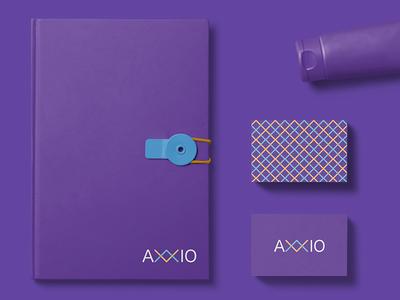 Axxio Visual Identity identity logotype businesscard dribbble brandidentity branding brand logodesign logo design graphic graphicdesign