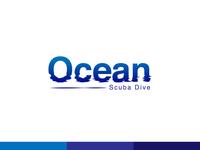 Ocean–Scuba Dive Logotype