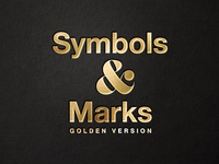 Symbols & Marks–Golden Version