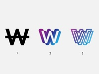 Logo proposals for Wall app