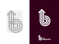 The Beacon Logo Design.