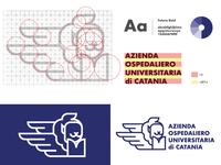 Proposal logo of the azienda ospedaliero universitaria Catania