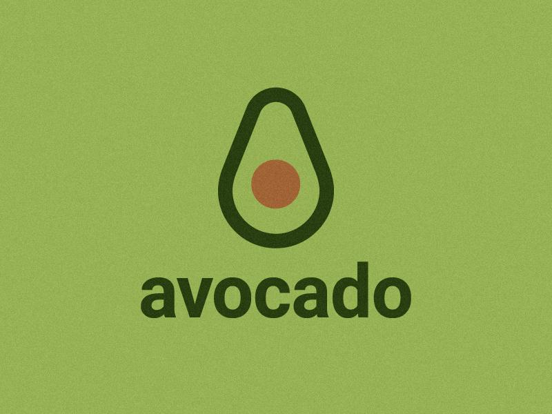 avocado logo grid fruit avocado minimal marks logos inspire inspiration trademark symbol brandidentity branding logotype brand logodesign logo dribbble graphicdesign graphic design