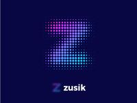 Zusik Logo Design