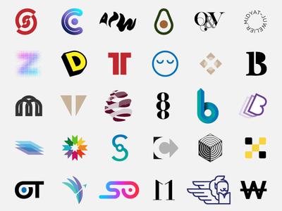 Best of 2018 freelance design monogram minimal identity marks logos inspire trademark symbol inspiration brandidentity branding logotype brand logodesign logo dribbble graphicdesign graphic design