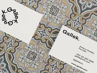 Business card Gallek