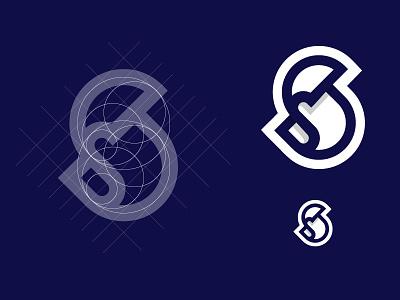 Saar geometric sign mark modern logo start up logo logo designer logo design symbol mark symbol design grid construction grid logo grid logo 3d letter s symbol marks trademark logos branding logodesign logo graphicdesign