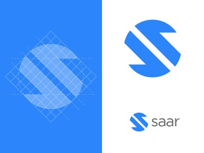 Saar    Second proposal startup branding startup logo logo design mark symbol icon mark icon symbol lettermark grid construction grid design grid logo letter s mark grid logos symbol marks trademark branding brand logodesign logo