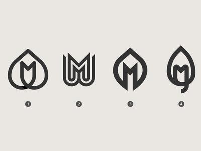 MWoods Proposal logos idea symbol design mark icon symbol mark symbol letter mark monogram letter mark letter m leaf logo leaf mark vector symbol trademark marks logos inspiration branding brand logodesign logo